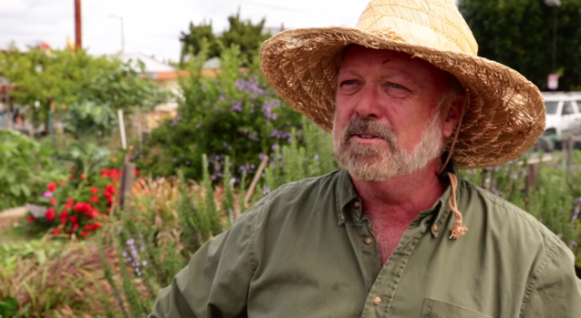 Joe Corso discusses the benefits of community gardening